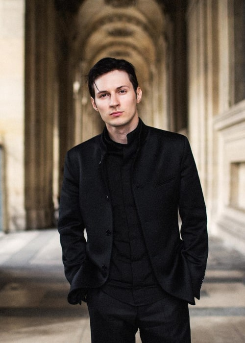 Pavel Durov as seen in an Instagram Post in August 2015