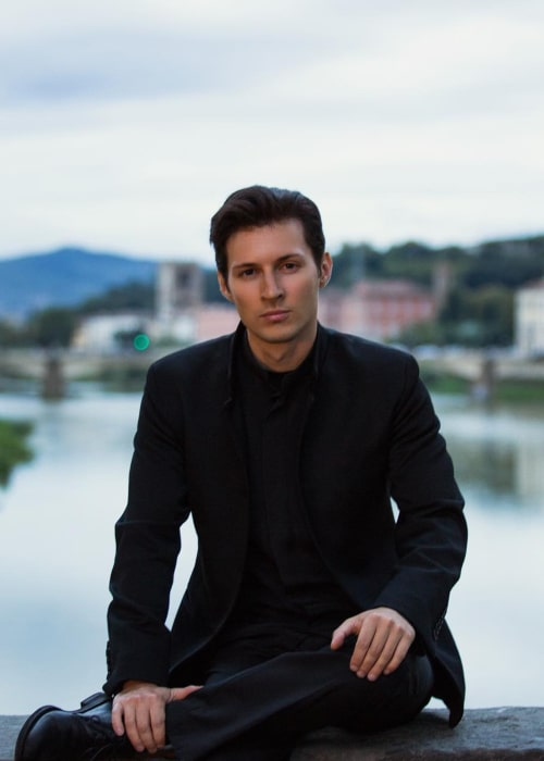 Pavel Durov as seen in an Instagram Post in January 2016