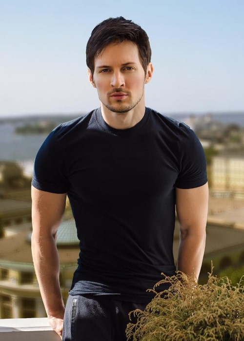 Pavel Durov as seen in an Instagram Post in June 2017