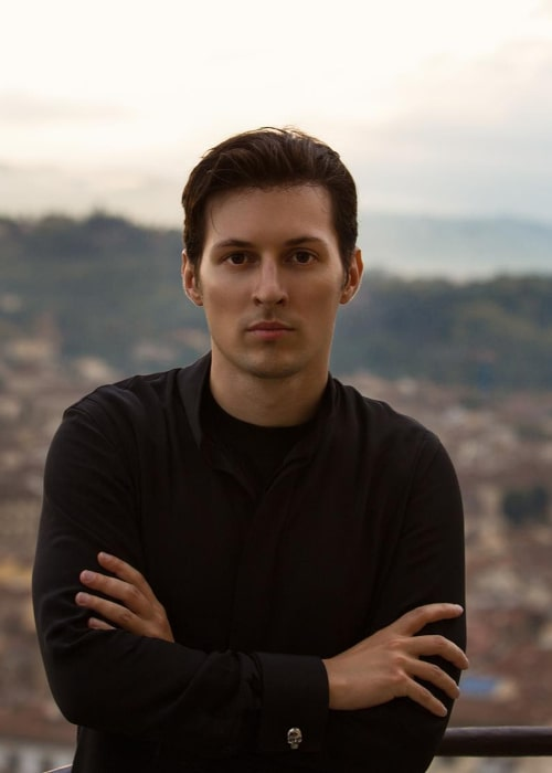 Pavel Durov as seen in an Instagram Post in October 2015