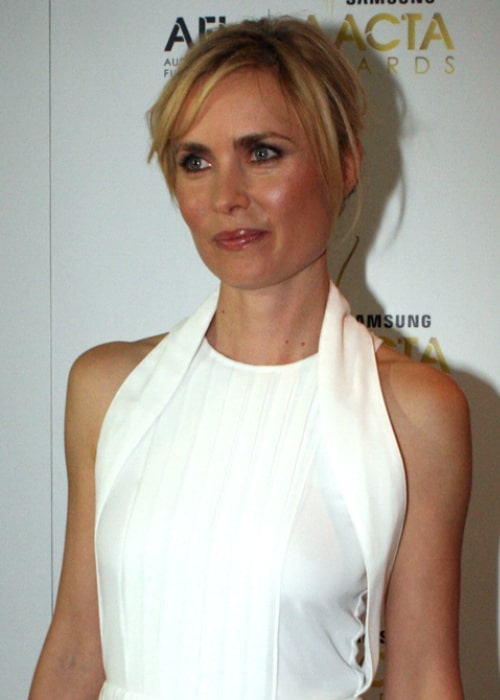 Radha Mitchell at the AACTA Awards From Sydney, Australia in January 2012
