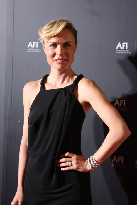 Radha Mitchell pictured at the AACTA Awards Sydney, Australia in 2012