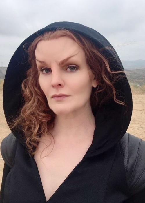 Rebecca Wisocky as seen in an Instagram post in March 2020