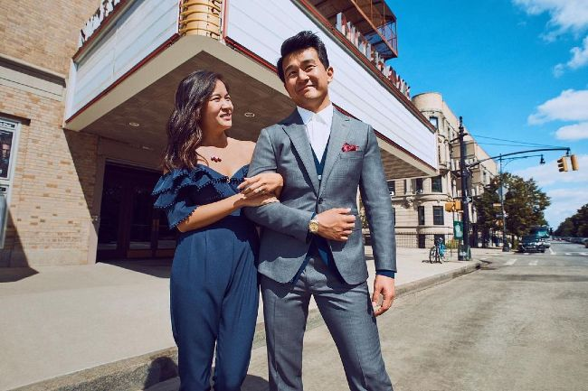 Ronny Chieng and Hannah Pham as seen in 2019