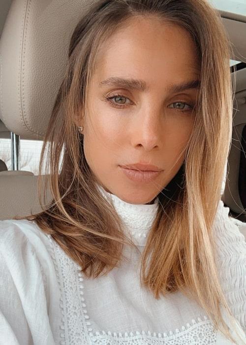 Sarai Givaty as seen while taking a selfie in Tel Aviv, Israel