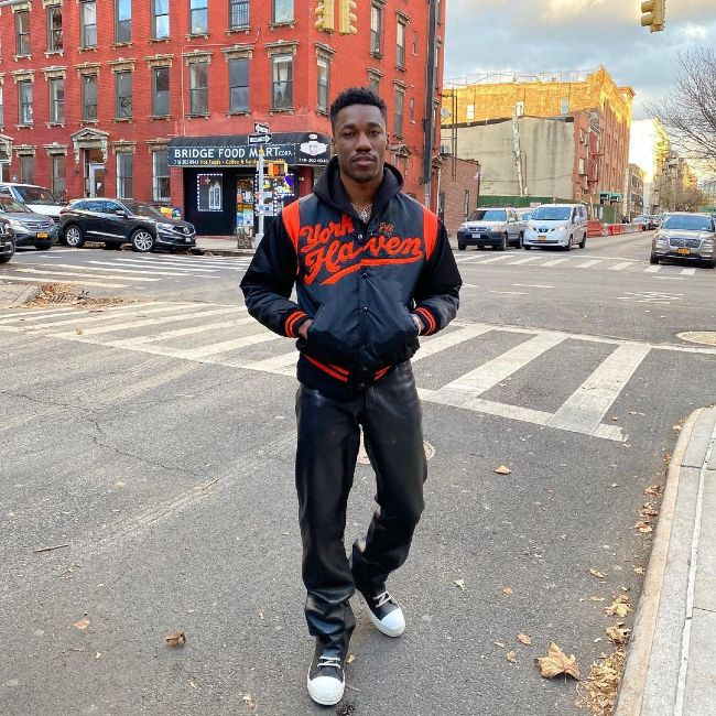 Singer Giveon as seen in New York in November 2020