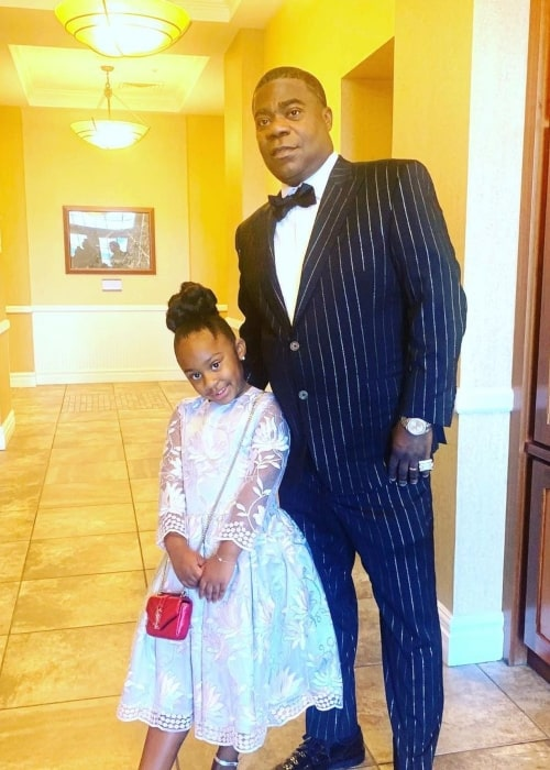 Tracy Morgan and his daughter Mavin as seen in a picture that was taken in February 2020