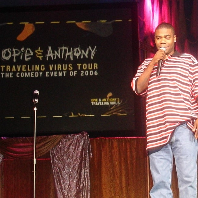 Tracy Morgan on stage during Opie and Anthony's Traveling Virus Comedy Tour in Worcester in 2006