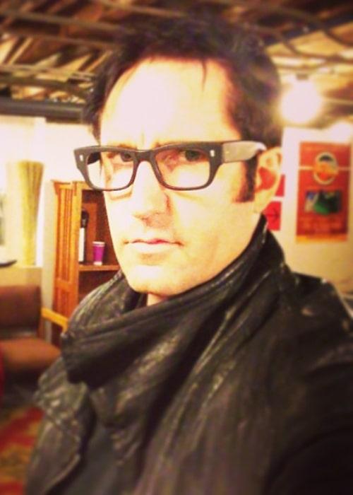 Trent Reznor in an Instagram selfie from April 2013