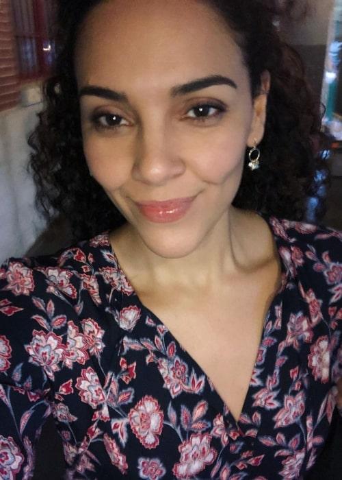 Vanessa Rubio as seen in a selfie that was taken in January 2021