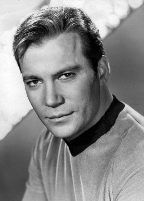 William Shatner as Captain Kirk in Star Trek (1966-1969)