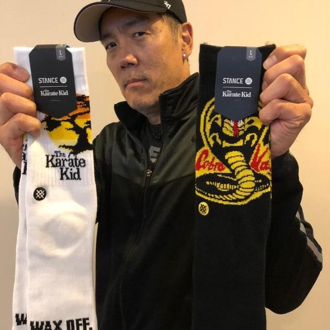 Yuji Okumoto as seen in a picture that was taken in September 2018