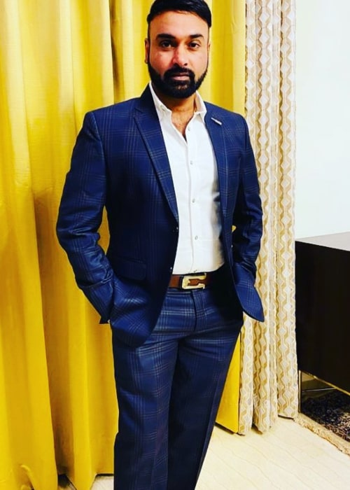 Amit Mishra as seen in an Instagram Post in December 2020
