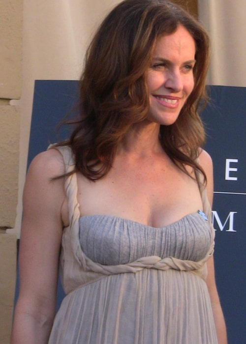 Amy Brenneman as seen in a picture that was taken at Heroes for Autism event, Hollywood, California in April 2009