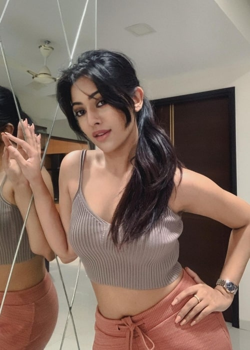 Anu Emmanuel as seen in a picture that was taken in October 2020