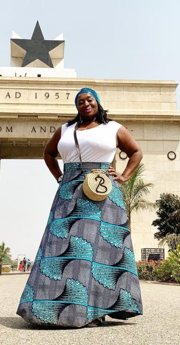Bevy Smith in March 2021 wishing happy Independence Day to Ghana