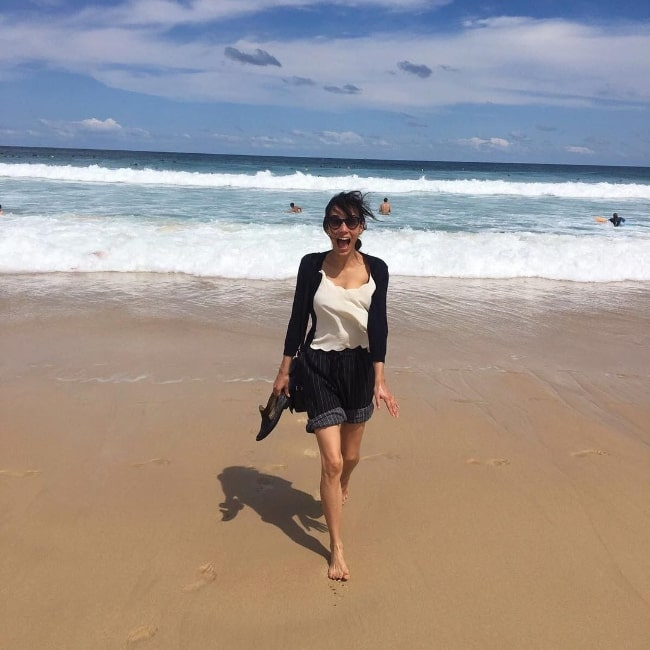 Caroline Ford as seen while enjoying her time in North Bondi, New South Wales in November 2017