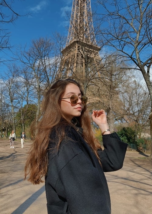 Carys Zeta Douglas in Paris, France