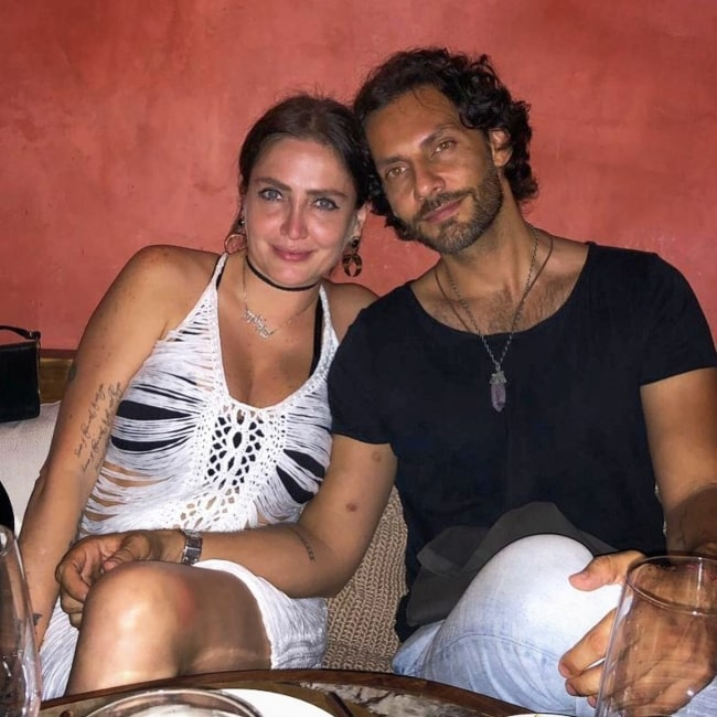Celia Lora as seen in a picture that was taken with Rosendo Oceguera in IT Tulum in April 2021