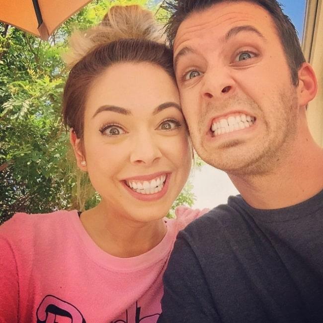 Dan Phillippi as seen in a selfie with his wife Nikki that was taken in June 2015
