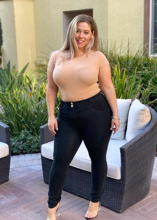Ellana Bryan as seen in a picture that was taken in Los Angeles, California in September 2020
