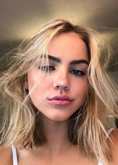 Emma Brooks McAllister as seen in a selfie that was taken in October 2020