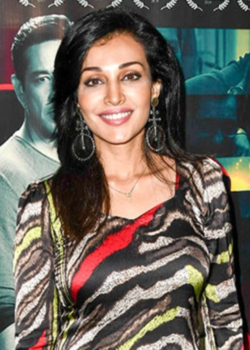 Flora Saini pictured at the special screening of the film Level13 in December 2019