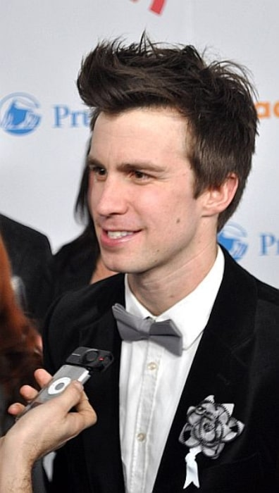 Gavin Creel as seen while attending the 21st Annual GLAAD Media Awards on March 13, 2010, at the Marriott Marquis Hotel in New York City, New York