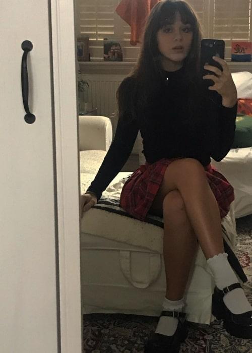 Isabella Pappas as seen in a selfie that was taken in November 2020