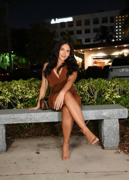 Janiece Nyasia as seen in a picture that was taken in Miami, Florida in March 2021