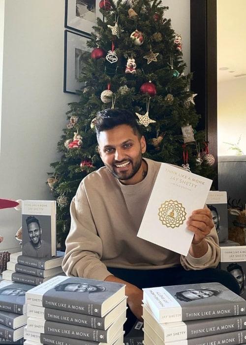 Jay Shetty as seen in an Instagram Post in December 2020