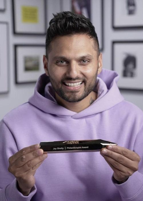 Jay Shetty as seen in an Instagram Post in November 2020