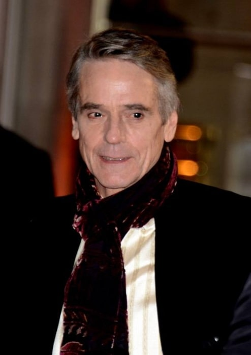 Jeremy Irons pictured in Paris at the César Awards ceremony