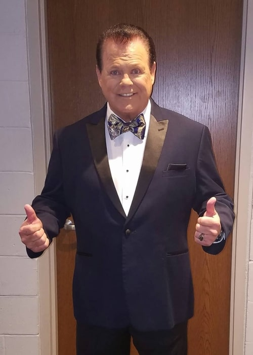 Jerry Lawler as seen in an Instagram Post in April 2018