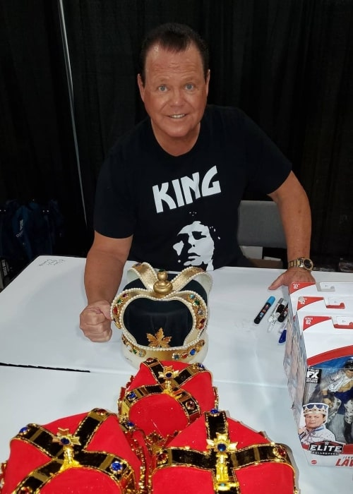 Jerry Lawler as seen in an Instagram Post in April 2021