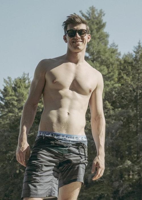 Jonny Devaney as seen in a picture that was taken in Muskoka, Ontario in July 2019