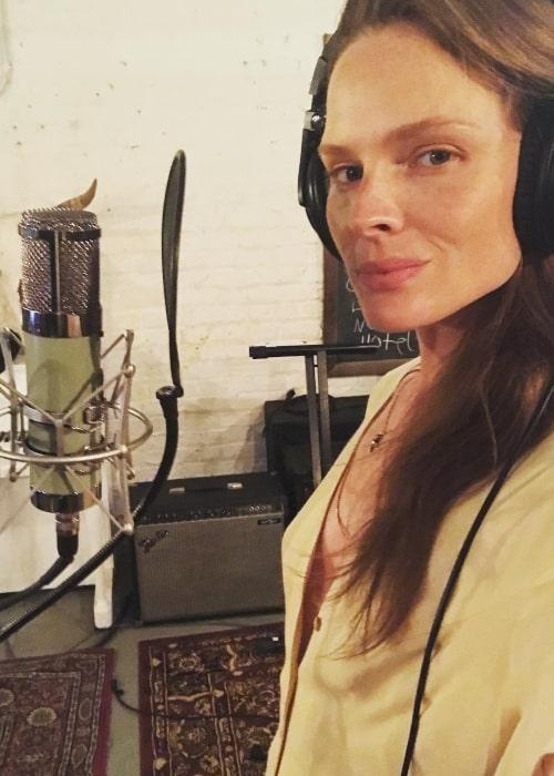 Kate Nauta as seen in a selfie that was taken in July 2018