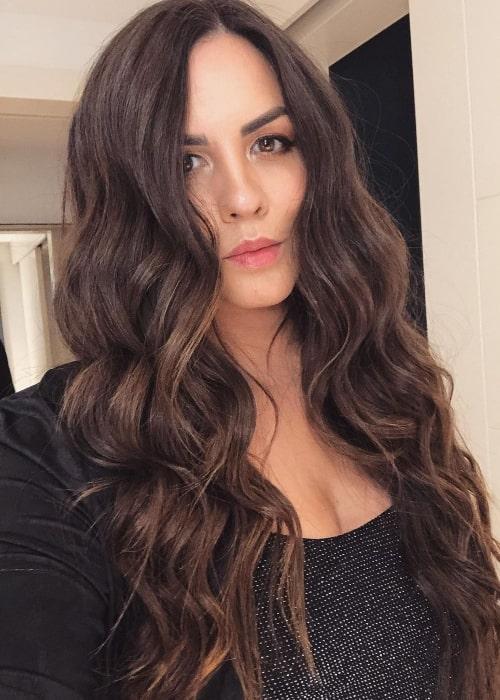Katie Maloney-Schwartz taking a selfie in Miami, Florida