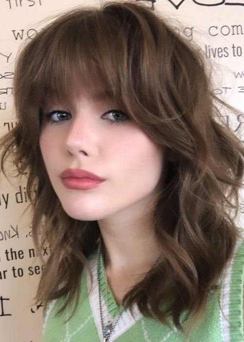 Kerri Medders as seen in a picture that was taken in Nine Zero One Salon & Spa May 2021