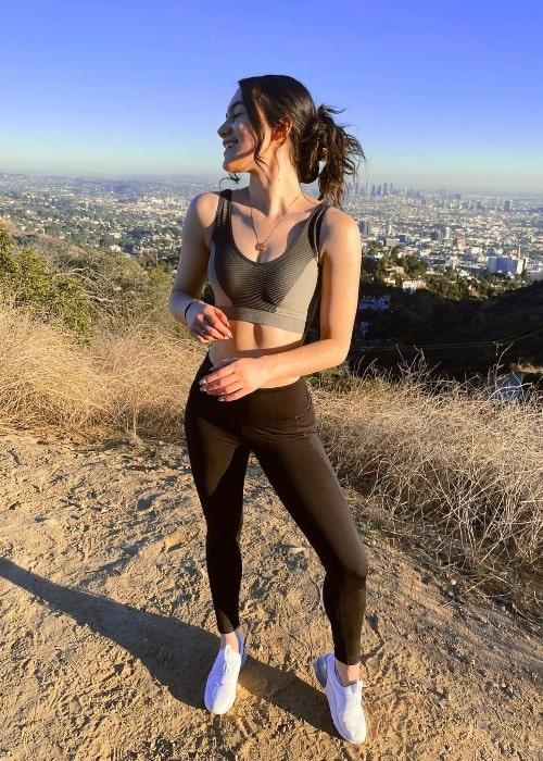 Liana Ramirez as seen in Los Angeles, California in January 2021