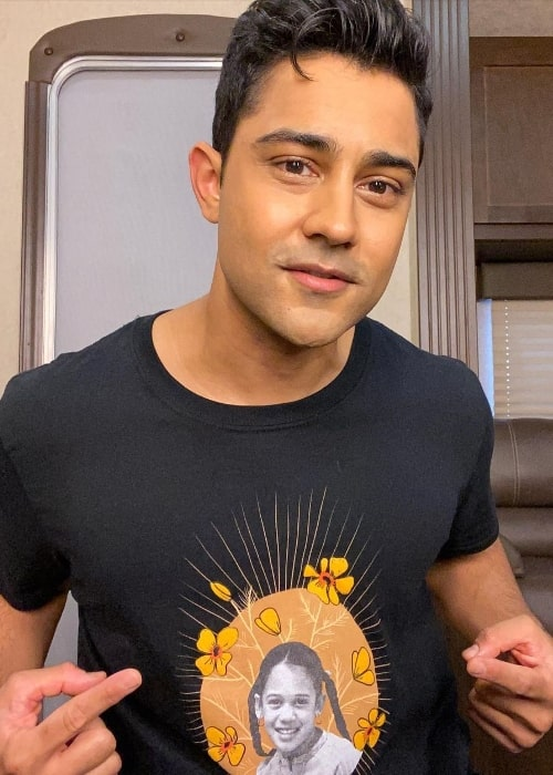 Manish Dayal as seen in October 2020