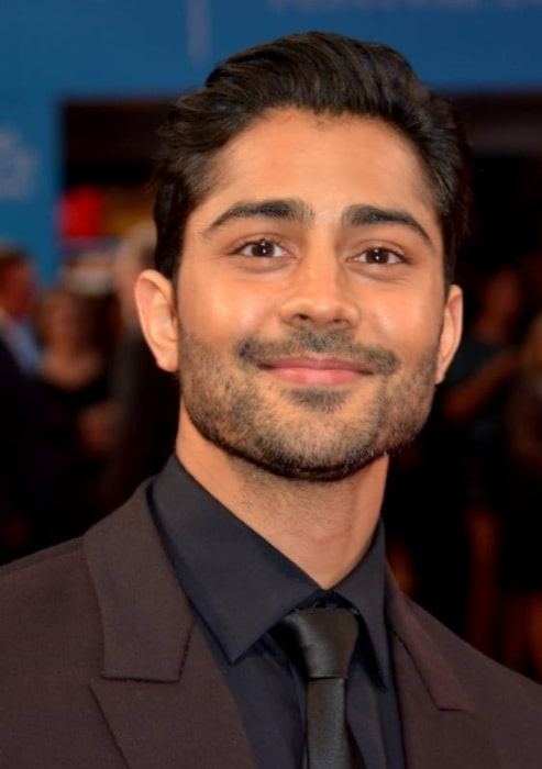 Manish Dayal at the Deauville Film Festival in September 2014