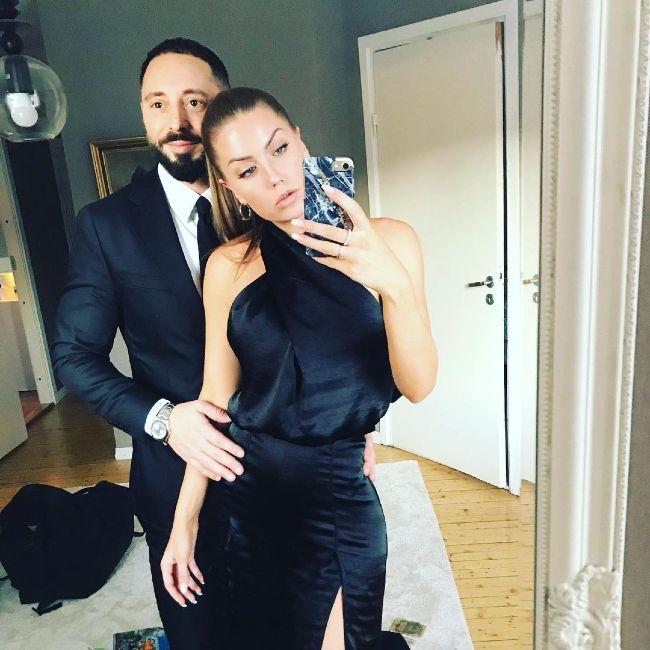 Matias Varela and Daniella Kjell as seen in 2020