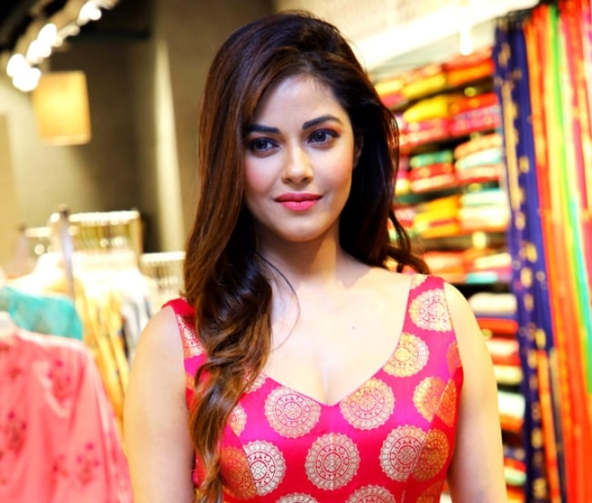 Meera Chopra as seen at the launch of Jashn's Fall-Winter 2018 Collection in Delhi
