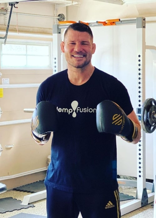 Michael Bisping as seen in an Instagram Post in February 2021