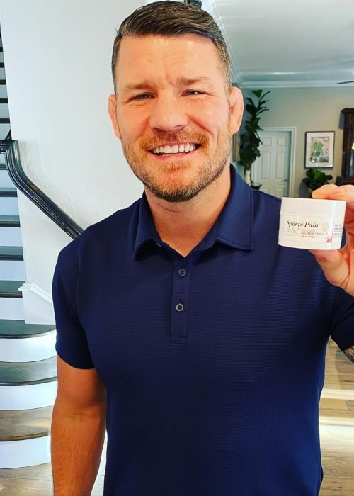 Michael Bisping as seen in an Instagram Post in January 2021