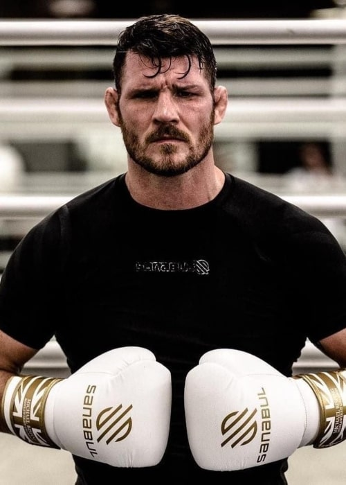 Michael Bisping as seen in an Instagram Post in March 2021