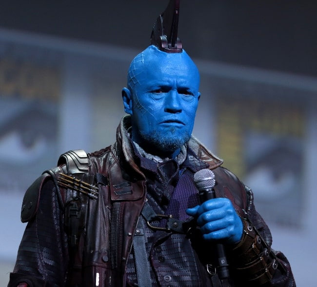 Michael Rooker as seen while speaking at the 2016 San Diego Comic-Con International in San Diego, California