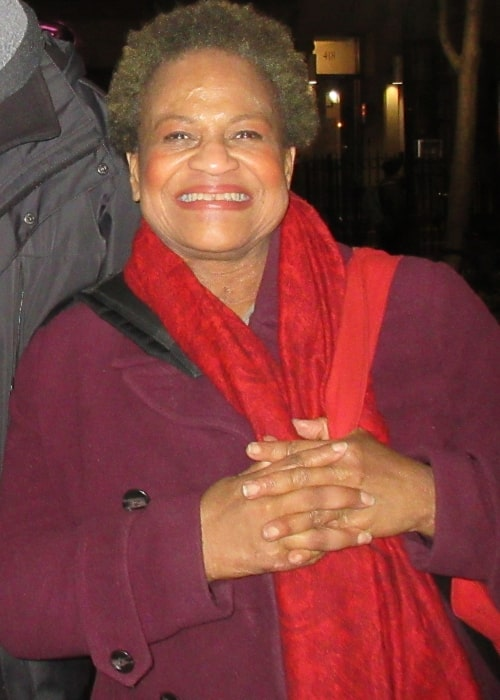 Michelle Hurst as seen in a picture that was taken on March 28, 2018