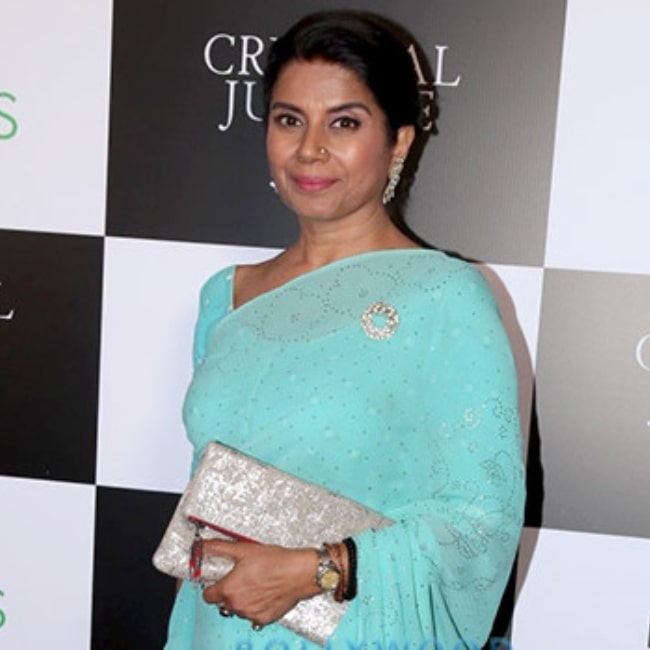 Mita Vashisht as seen in a picture that was taken at the screening of Criminal Justice on April 3, 2019